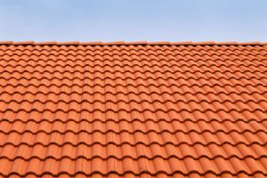 Clay roof tiles on a home in Vancouver WA